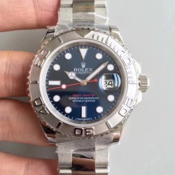 Replica Rolex Yacht-Master 40 116622 JF Stainless Steel Blue Dial Swiss 2836-2