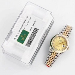 Replica Rolex Datejust II 116333 41MM GM Stainless Steel & Yellow Gold Champagne Dial Swiss 3235