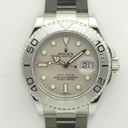 Replica Rolex Yacht-Master 40 116622 GM Stainless Steel 904L Grey Dial Swiss 2836-2