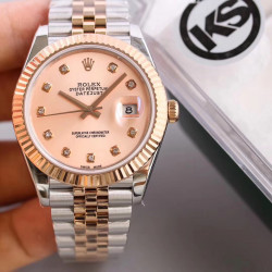 Replica Rolex Datejust II 116333 41MM KS Stainless Steel & Rose Gold Pink Mother Of Pearl Dial Swiss 2836-2