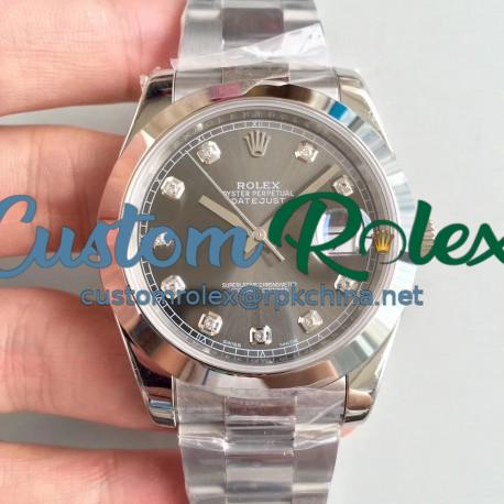 Replica Rolex Datejust II 126300 41MM N Stainless Steel Anthracite Dial Swiss 3235