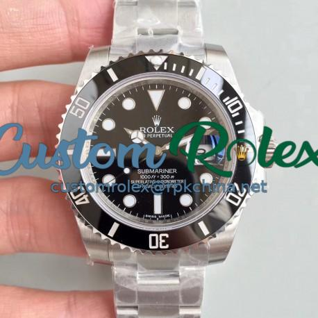 Replica Rolex Submariner Date 116610LN VR Stainless Steel Black Dial Swiss 2836-2