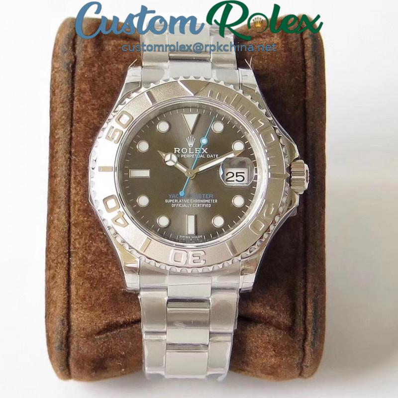 Replica Rolex Yacht-Master 40 2016 Baselworld 116622 VR Stainless Steel Anthracite Dial Swiss 2836-2