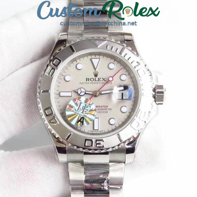 Replica Rolex Yacht-Master 40 116622 JF Stainless Steel Grey Dial Swiss 2836-2