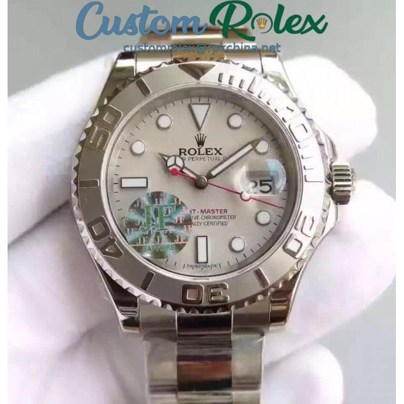 Replica Rolex Yacht-Master 40 116622 JF Stainless Steel Gray Dial Swiss 2836-2