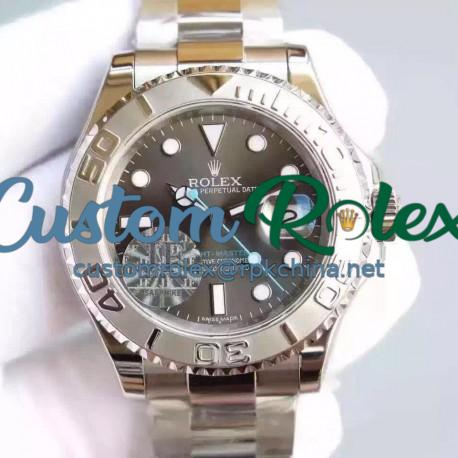 Replica Rolex Yacht-Master 40 116622 JF Stainless Steel Anthracite Dial Swiss 2836-2