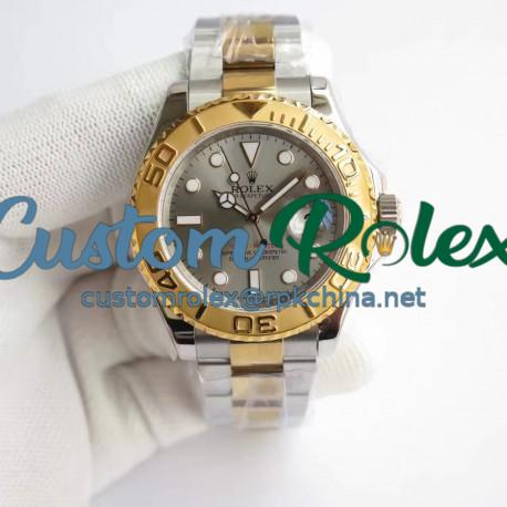 Replica Rolex Yacht-Master 40 116622 JF Stainless Steel & Yellow Gold Anthracite Dial Swiss 3135